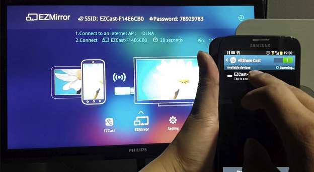 Miracast Android Screen mirroring