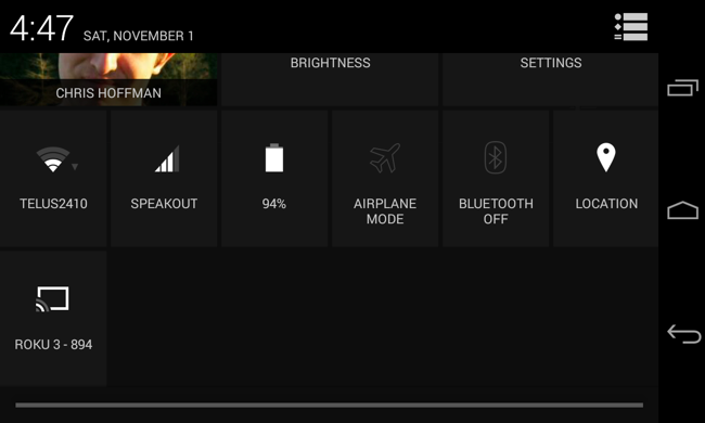 miracast setup on android