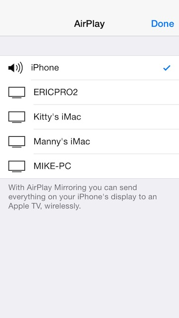 airserver to mirror iphone to tv