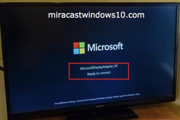 Comment utiliser Miracast sur Windows 7