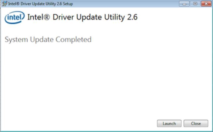 Driver Update Utility Tool launch