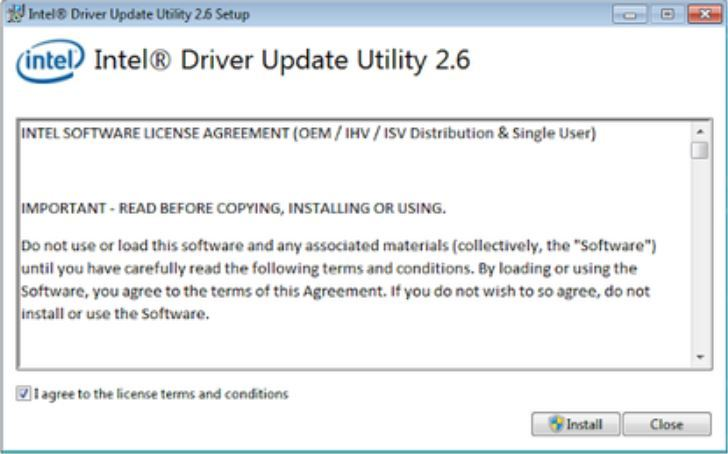 Intel Driver Update Utility Tool
